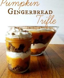 pumpkin gingerbread trifle pumpkin pie spice pralines