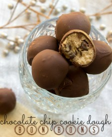 Chocolate Chip Cookie Dough Bon Bons