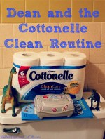 Dean and the Cottonelle Clean Care Routine