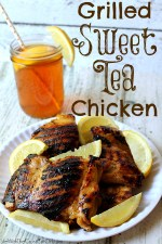 Grilled Sweet Tea Chicken