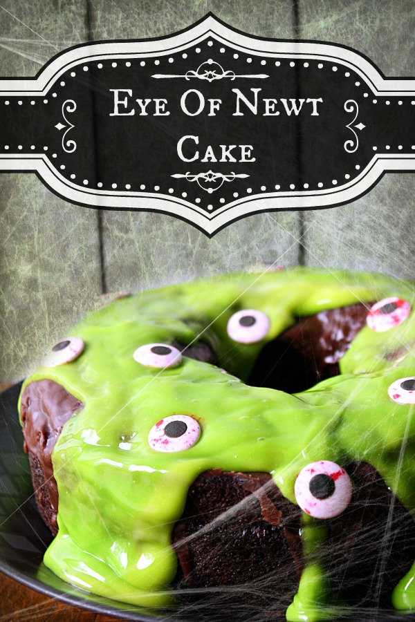 Eye Of Newt Cake #SnackPackMixins #CollectiveBias