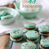 Robin's Egg Macarons