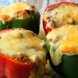 Enchilada Stuffed Peppers