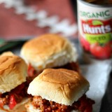 Sloppy Turkey Taco Sliders