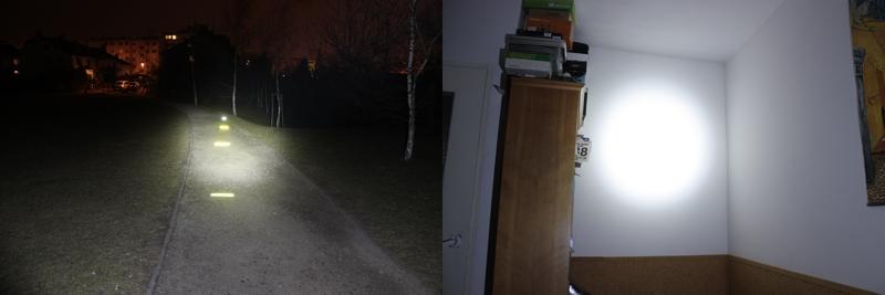 Fenix HP05 - 350 lumens (outdoor / indoor)