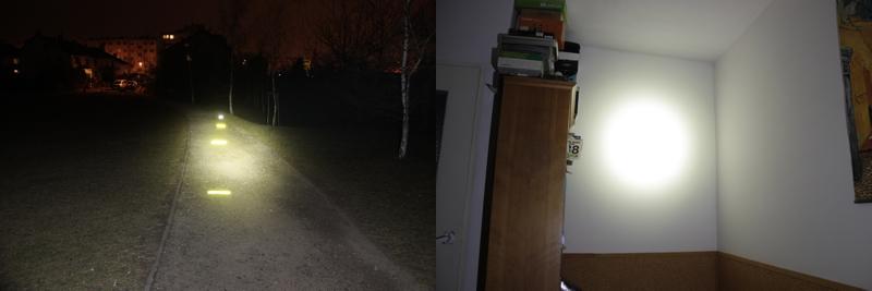 Fenix HP15 - 275 lumens (outdoor / indoor)