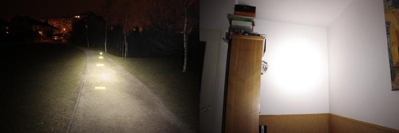 Petzl NAO - about 400 lumens (outdoor / indoor)