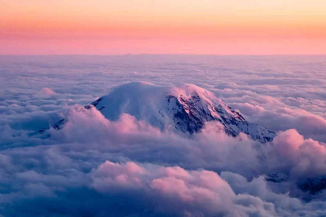 Mt. Rainier, From Above