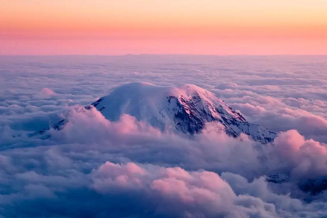 Mt. Rainier, From Above