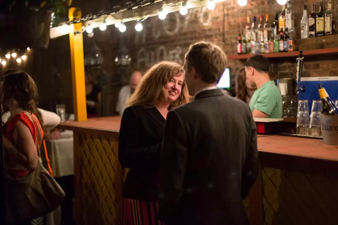Canon 5D Mark III example, ISO 3200, Bar Scene