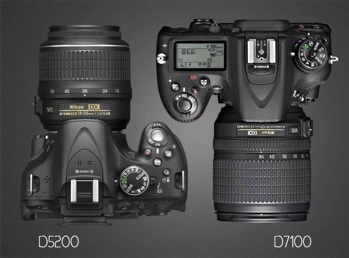 Overhead, Nikon D7100 and D5200