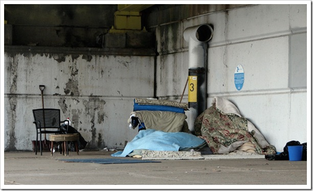 Homeless and on the streets in Saskatoon