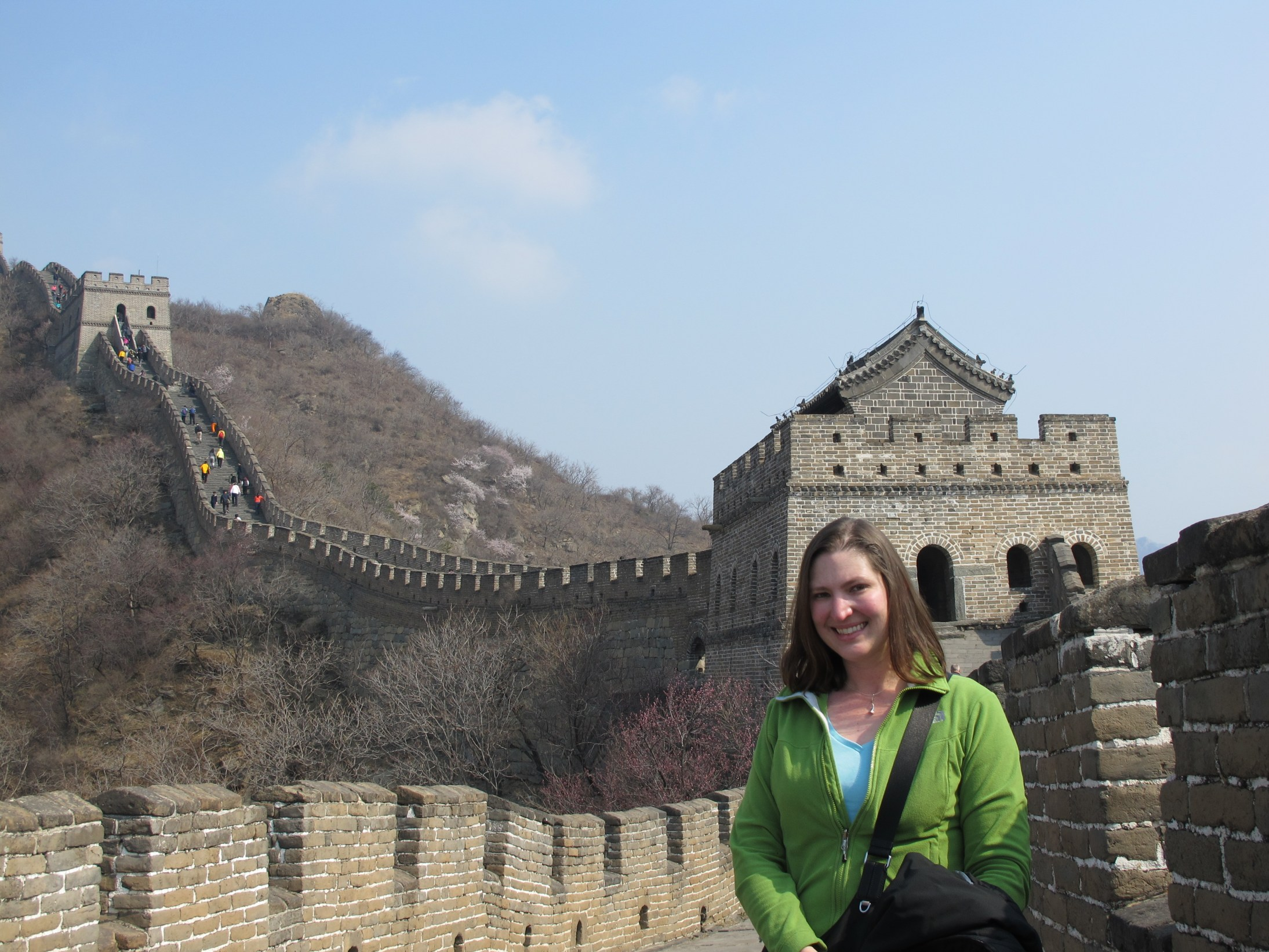 Me on the Great Wall. How cool is that?