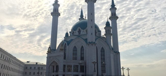 The Qol Sharif Mosque. What else can I say? It's stunning.
