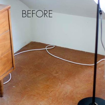 How to hide wires on floor