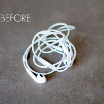 how to keep wires from tangling