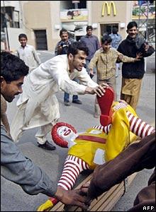 Angry at McDonalds