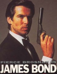 Brosnan with Walther