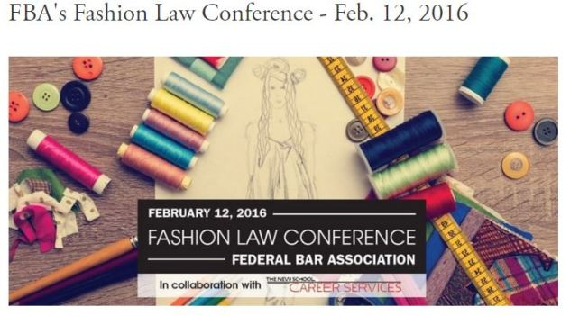 Fashion Law Conference 2016 via Medenica Law