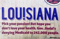 Louisiana Jindal MoveOn billboard