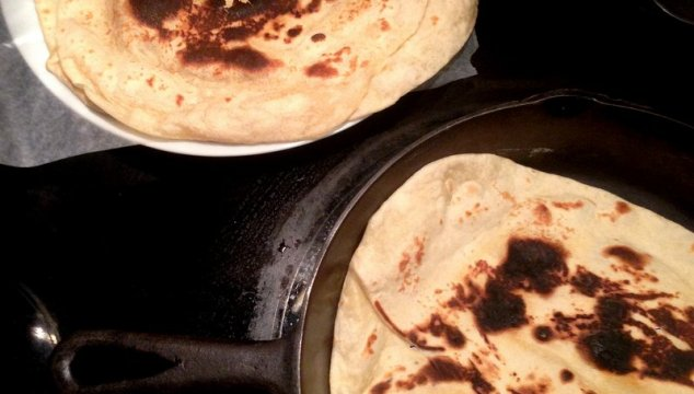 homemade tortillas ~ Like Mother, Like Daughter