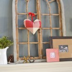 Valentine's Day mantle