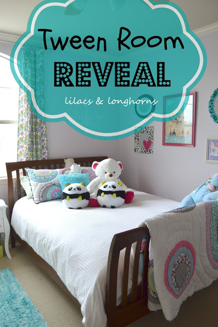 Tween Girl's Room Reveal