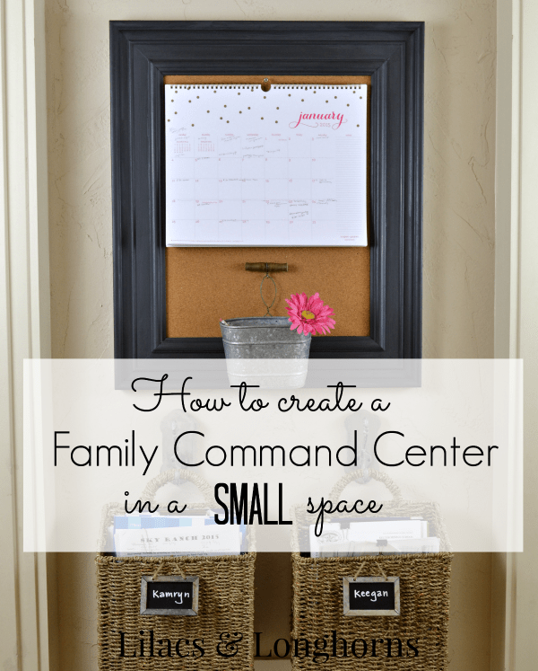 How to Create a Family Command Center in a Small Space
