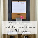 small family command center