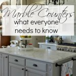 what everyone needs to know about marble counters