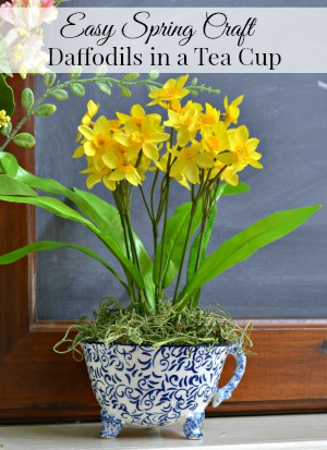 Simple Spring Decor Idea