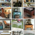sewing table upcycles