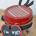 I'm nuts about you mason jar Valentine's Day gift