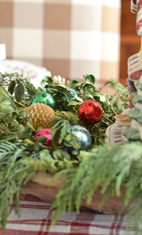 vintage-christmas-ornaments-in-greenery