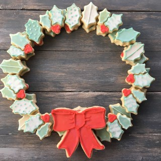Sugar Cookie Wreath