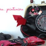 Comment accessoiriser une robe noire en version printanière?