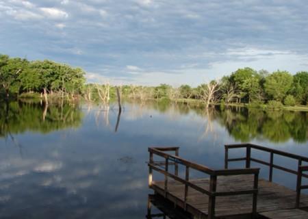 Kansas fishing corporate retreats-F