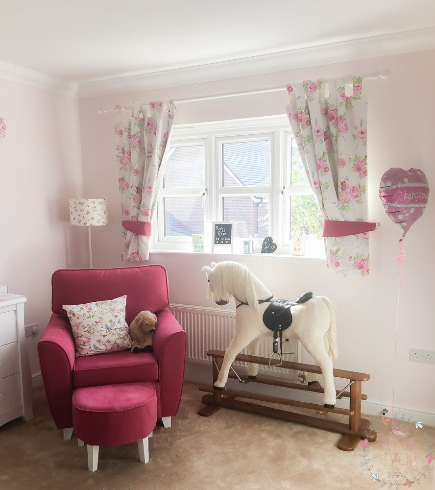 Supple English Rose Chintz Curtains Made To Measure Curtains Lilymae Designs Nursery Home How To Measure Curtains Curtains Correctly How To Measure Rods baby How To Measure For Curtains