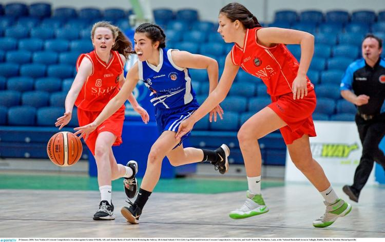 WATCH: Limerick's Crescent College lose All Ireland ...