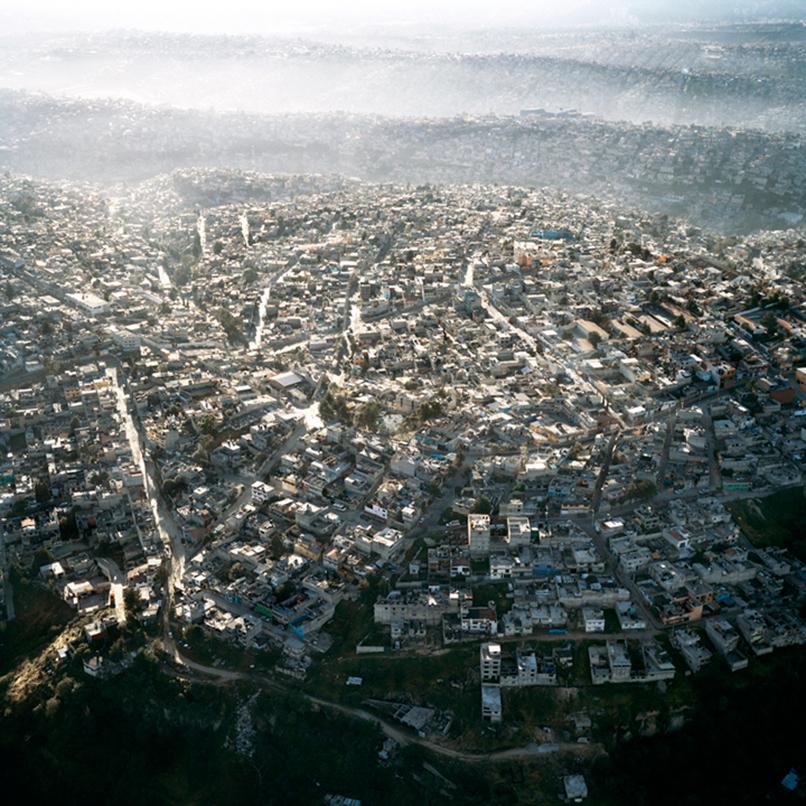 Vista-Aerea-de-la-Ciudad-de-Mexico,-VI,-2006
