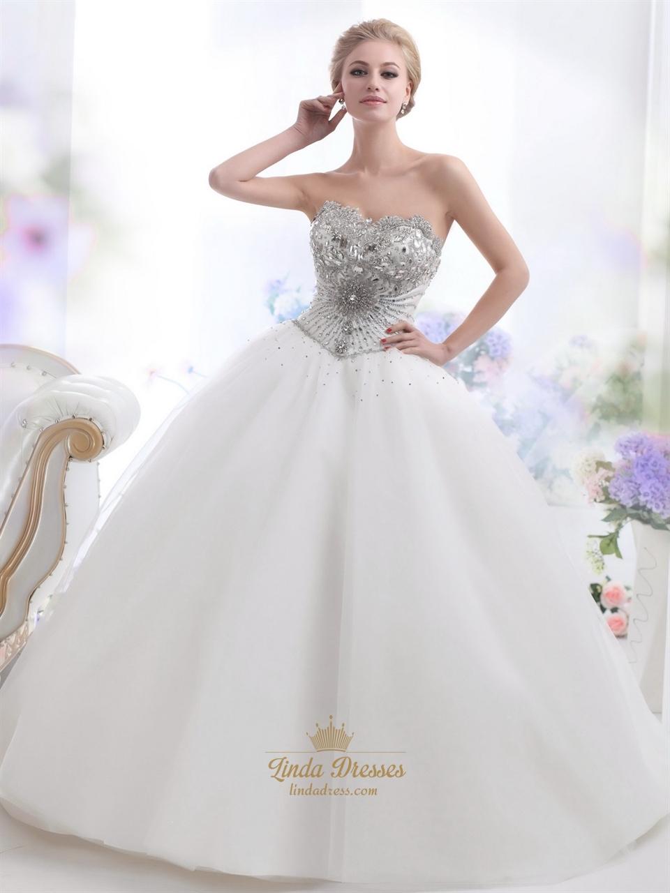 wedding dresses tulle strapless tulle wedding dress Wedding Dresses Tulle