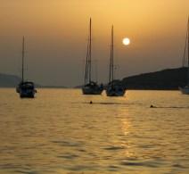 Cape Sunion at Sunset