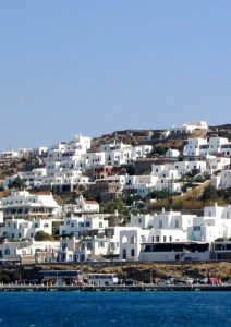 Blue and White on Mykonos