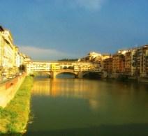 Folorence's Ponte Vecchio Before the Rain