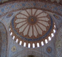 Interior Dome of the Blue Mosque