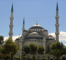 Blue Mosque in the Sun