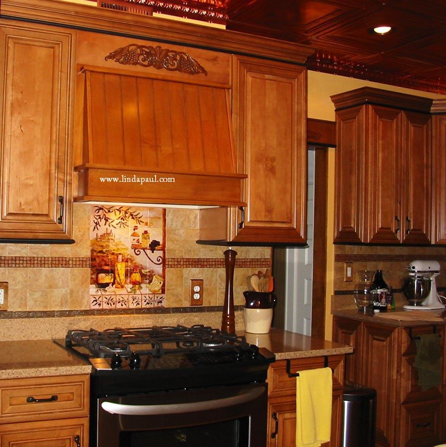 trends in tile kitchen backsplash trends Interior and Paint Color Trends by artist Linda Paul