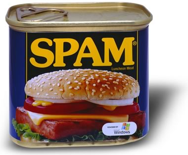 Collage: Andreas Lindkvist www.lindkvist.com - A can of spam, powered by Microsoft
