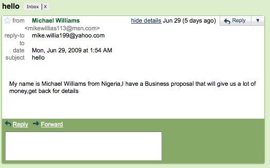 Gmail - hello - nigeria