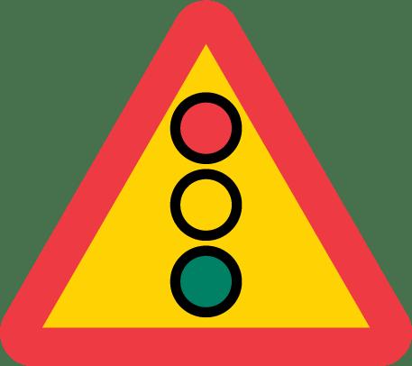 A22-1 Varning för trafikljus